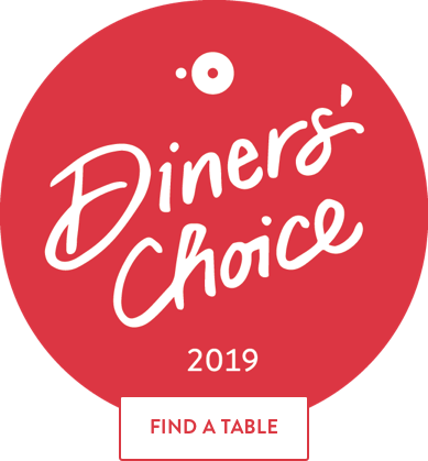 Diner's Choice Award 2019 by Open Table